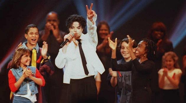 Michael Jackson na udílení cen MTV Video Music Awards 1995