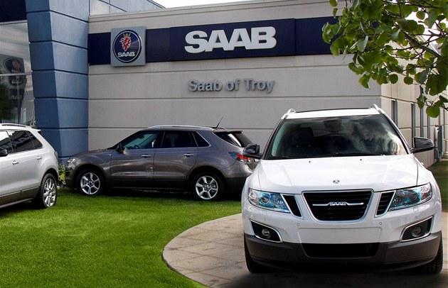 Pobo�ka automobilky Saab v USA.