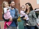 Ben Affleck a Jennifer Garnerov� s dcerami