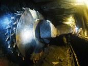T�ba uhlí v OKD. Ilustra�ní snímek