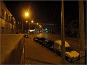Noční snímek pořízený fotoaparátem Olympus XZ-1