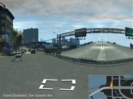 Grand Theft Auto se Street View