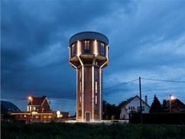 Vodárenská věž byla dokončená v roce 1941 nacisty během okupace Belgie.