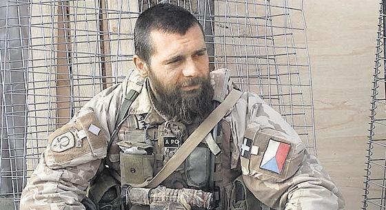 Jiří Schams v afghánské misi