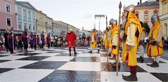 Živé šachy ve Svitavách