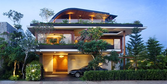 Požadavkem majitele bylo dvougenerační bydlení, které poskytne plnohodnotný