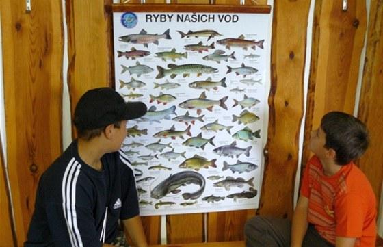V lednu musí děti absolvovat test z rybářského řádu a absolvovat zkoušku z