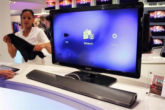 Philips - soundbar s multimediálním přehrávačem