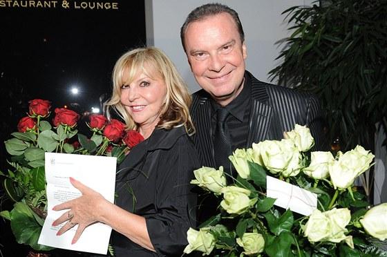 Hana Zagorová a Štefan Margita oslavili 120. narozeniny