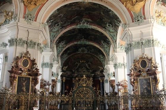 Návštěva barokní katedrály je zdarma.