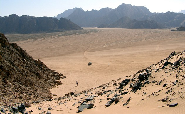 Beduíni u egyptské Hurghady