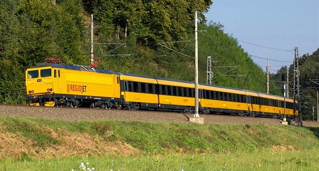�luté vlaky RegioJet spole�nosti Student Agency vyrazí poprvé s cestujícími 26.