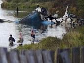 Místo letecké nehody v Jaroslavli (8. září 2011)
