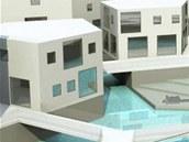 Student liberecké architektury Andreas Dzikos by na nábřeží Nisy rád viděl