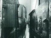 Liberecké Benátky se kdysi říkalo nábřeží Nisy mezi mosty v ulicích Orlí a 1.