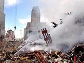 Trosky WTC - 18. září 2001