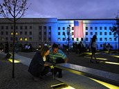 Památník obětem, které zahynuly při útoku na Pentagon 11. září 2001