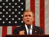 Preziden George W. Bush promluvil k národu dne 20. září