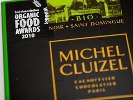 Detail ceny čokolády Mechel Cluizel