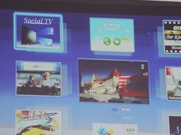 Novinkou ve Viera Connectu je položka Social TV.