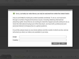 U většiny internetových služeb poskytujících audio nebo video obsah narazíte