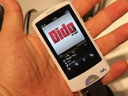 """Zatím nejvyšší řada MP3 přehrávaů Sony nese označení A. Nabízí dotykový 2,8"""""""