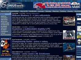 BonusWeb v roce 2000
