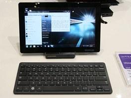 Samsung 7 Series Slate PC s klávesnicí a dokovací stanicí
