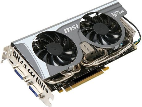 MSI GeForce GTX 560 Ti Twin Frozr II
