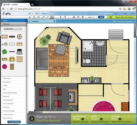 Půdorys domu online