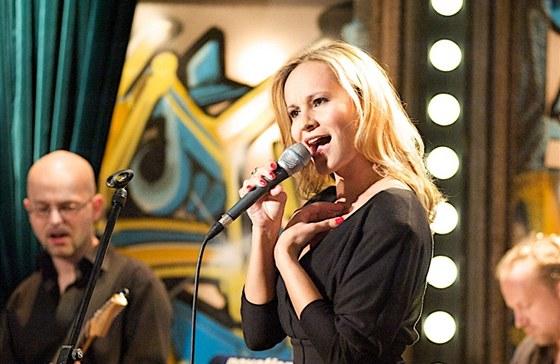 Monika Absolonov� v Show Jana Krause