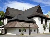 Dřevěný kostel od švédských námořníků v Kežmarku
