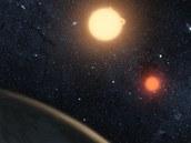 Takhle by to mohlo podle ilustrátora NASA vypadat při pohledu z oběžné dráhy