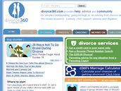 Sociální síť pro rozvedené a rozvádějící se - divorce360.com