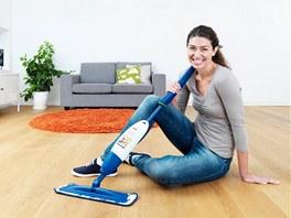 Snadný úklid všech typů podlah.