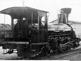 Původní podoba lokomotivy Conrad Vorlauf