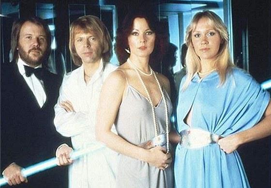 �lenov� skupiny ABBA  v dob�ch jejich nejv�t�� sl�vy.