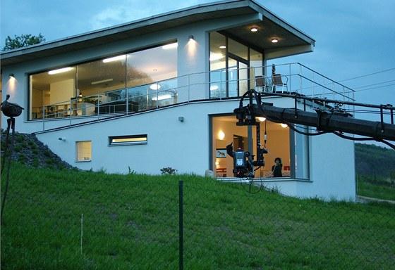 Vila v Pustiměři vypadá přesně podle přání majitelky.