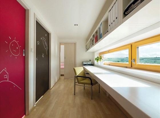 Dětské pokojíky mají rozlohu 8 metrů čtverečních. Jejich plocha je však ještě