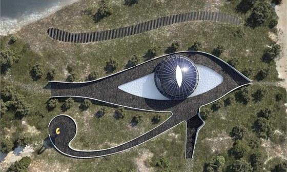 Horovo oko, neboli vedžat, je jedním z nejdůležitějších staroegyptských symbolů