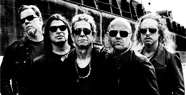 Lou Reed s kapelou Metallica