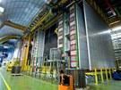 Celkový pohled na experiment Opera, který snad zachytil neutrina přilétající v