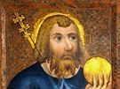 Svatý Václav v Kapli sv. Kříže na Karlštejně