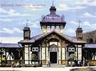 picí pavilon, kolem roku 1890