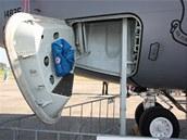 Vstup pro posádku tří až čtyřčlennou posádku legendárního letounu KC-135