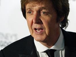 Paul McCartney na premi��e baletu Ocean�s Kingdom, k n�mu� napsal hudbu.