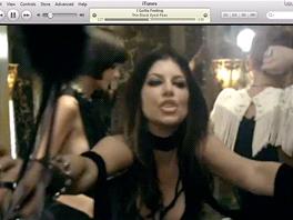iTunes - hudební video