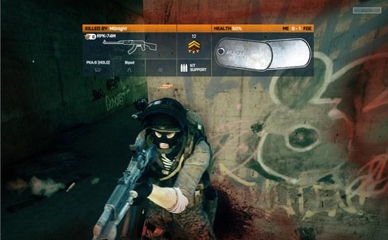 Battlefield 3 v akci