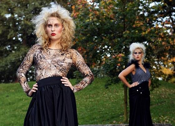 Finalistky Miss Junior v modelech Miroslava Bárty, v roli modela se představil