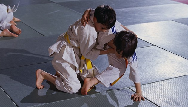 Dtsk&#233; judo - ilustran&#237; foto